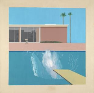 A Bigger Splash 1967 David Hockney born 1937 Purchased 1981 http://www.tate.org.uk/art/work/T03254