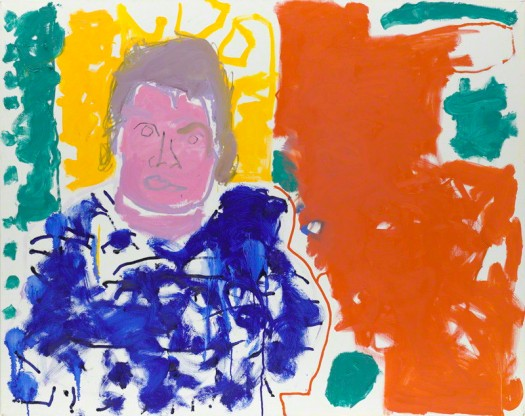 by Patrick Heron, oil on canvas, 1997