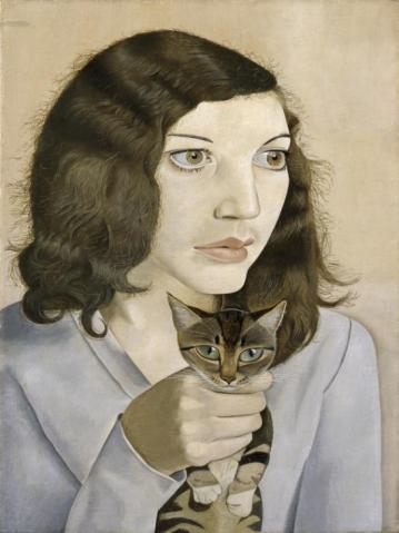 Girl with a Kitten 1947 Lucian Freud 1922-2011 Bequeathed by Simon Sainsbury 2006, accessioned 2008 http://www.tate.org.uk/art/work/T12617