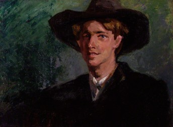 by Clara Ewald, oil on canvas, 1911