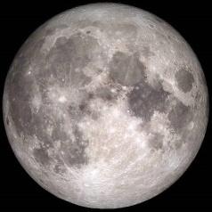 Moon in December