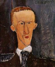 Blaise Cendrars by Modigliani