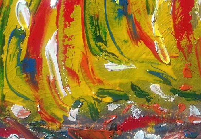 storm of colour